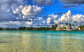 Giove, Florida, Florida, acqua, nuvole