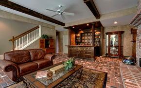 interior, sofa, ceiling, living room, room