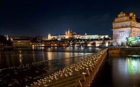 Czech Republic, prague, night, of