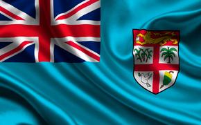 Fidi, satyna, flaga, Fidi, Atlas, flaga
