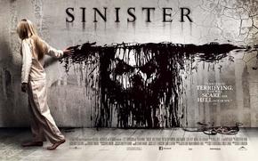 Horror, horror, girl, Sinster