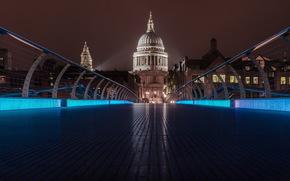 Inghilterra, Londra, St Pauls dal ponte