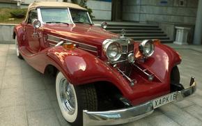 mercedes-benz 170 w136 cabriolet, Feldman, Kharkiv, Mercedes-Benz