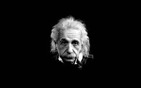 эйнштейн, черное, белое