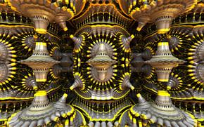 3d, Abstraccin, fractal