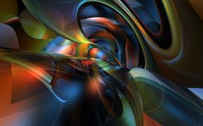 抽象, 3D, 芸術