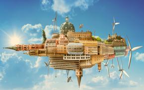 Transformers from cities, fantasmogoriya, 3d, art