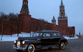 ZIS 110, 1945-58, machine, Kremlin, rarity, cars, machinery, Car