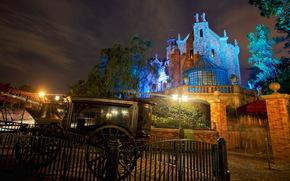 Stati Uniti d'America, Disneyland, allenatore, California, notte