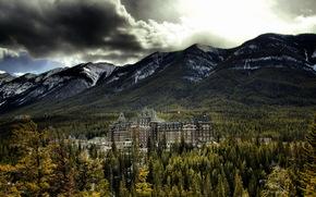 バンフスプリングスホテル, バンフ国立公園, アルバータ, カナダ