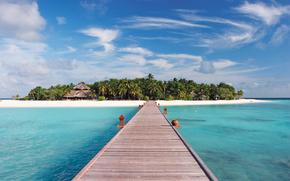 Maldives, tropics, beach