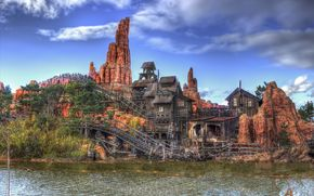 Thunder Mountain, Frontierland, Disneyland Paris