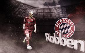 ftbol, Baviera, Arjen Robben
