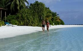 马尔代夫, 热带, 夏天