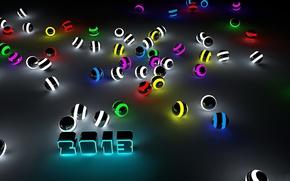 Balls, kula, neon