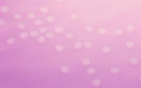 розовый фон, пузыри