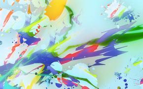Color Picker, variegated, background