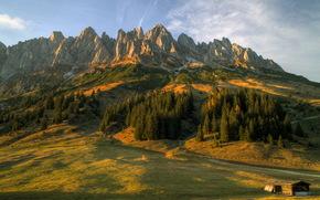 Montagne, Austria, paesaggio, Salisburgo, natura