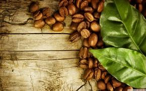 cafe, wallpaper, caf, кофе, лист кофе