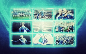Chelsea, picture, team, football, champions, wallpaper, players