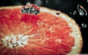 fruit, orange, oranges, wallpaper, fruit, grapefruit, drops of water