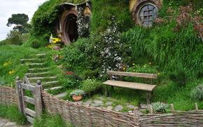 新西兰, 霍比特人之家, 景观