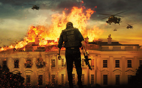 Olympus Has Fallen, The fall of Olympus, Gerard Butler, film, Movies, movie