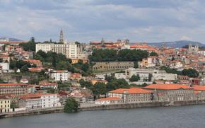 португалия, город, река