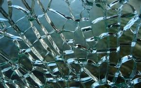 texture, broken glass, crack