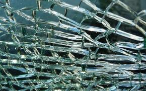 текстура, битое стекло, трещины