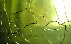btioe glass, crack, texture