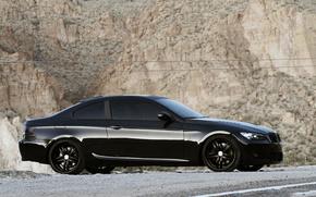 BMW, rock, nero, auto, macchinario, Auto