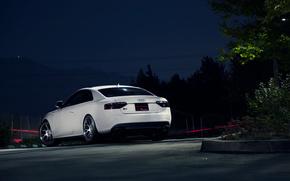 Audi, notte, macchinario, auto, macchinario, Auto