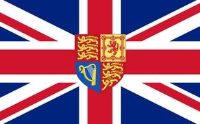 flag, United Kingdom, texture
