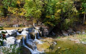 cascada, ro, paisaje