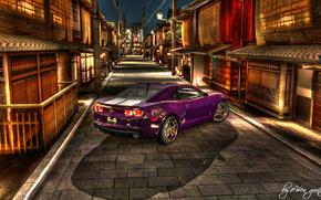 紫色, Camaro, HDR