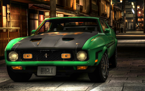 Mach 1, hdr, mustang