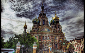 Cathedral of the Resurrection of Christ, (The Church of the Savior on Spilled Blood), St. Petersburg, Russia