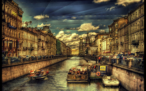 St. Petersburg, Griboyedov Canal, Russia