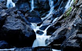 Rocks, cascata, ruscello