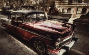 Chevrolet, Belair, hdr