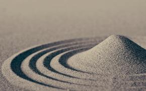 areia, areia, ondas, macro, comunidade