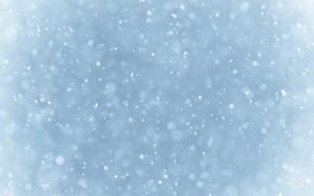 Снег, фон, абстрация, текстура, синий