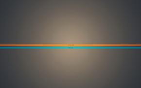 Оранжевый, голубой, синий, фон, цвет