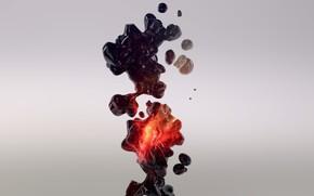 абстракции, жидкость, форма