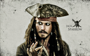 Jack Sparrow, Johnny Depp (Johnny Depp), pirata