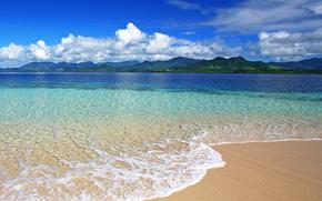 mar, playa, arena