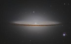 Galaxy wallpaper, Star, sky, Sombrero Galaxy, stars, sombrero galaxy