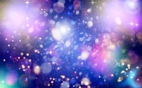 пятна, свечение, звёздочки