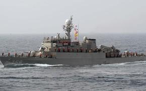 teaching, Sea., ship, combat, in, fleet